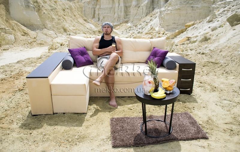 Ортопедичний кутовий диван Cube Shuttle NOVO (Куб Шатл Ново) ф-ка Мекко (2,65*1,65м)  Вінниця-6