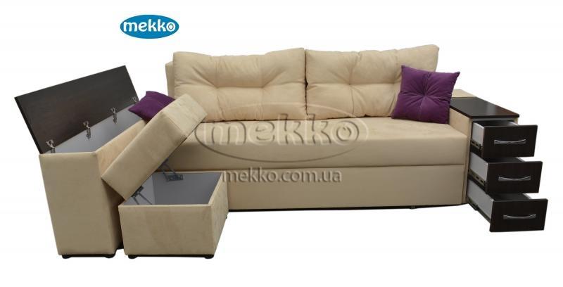 Ортопедичний кутовий диван Cube Shuttle NOVO (Куб Шатл Ново) ф-ка Мекко (2,65*1,65м)  Вінниця-13