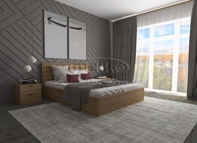 Ліжко Лауро з Підйомником (масив бука /масив дуба) T.Q.Project  Вінниця