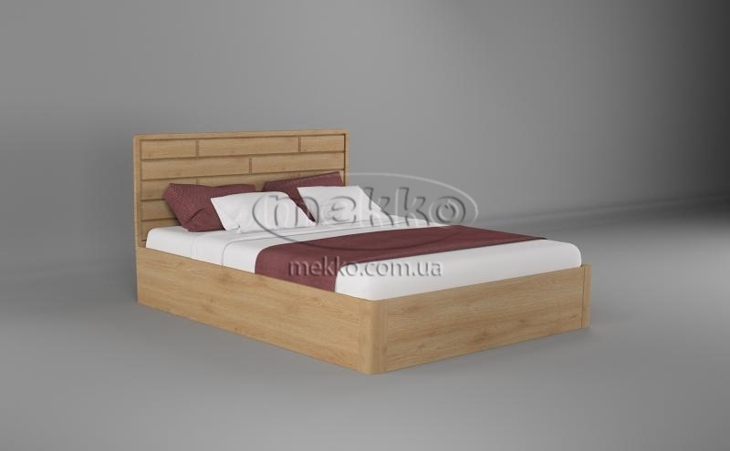 Ліжко Лауро з Підйомником (масив бука /масив дуба) T.Q.Project  Вінниця-5