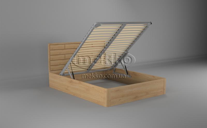 Ліжко Лауро з Підйомником (масив бука /масив дуба) T.Q.Project  Вінниця-2